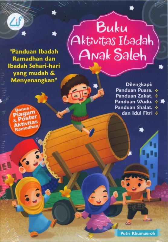 Cover Buku Buku Aktivitas Ibadah Anak Saleh