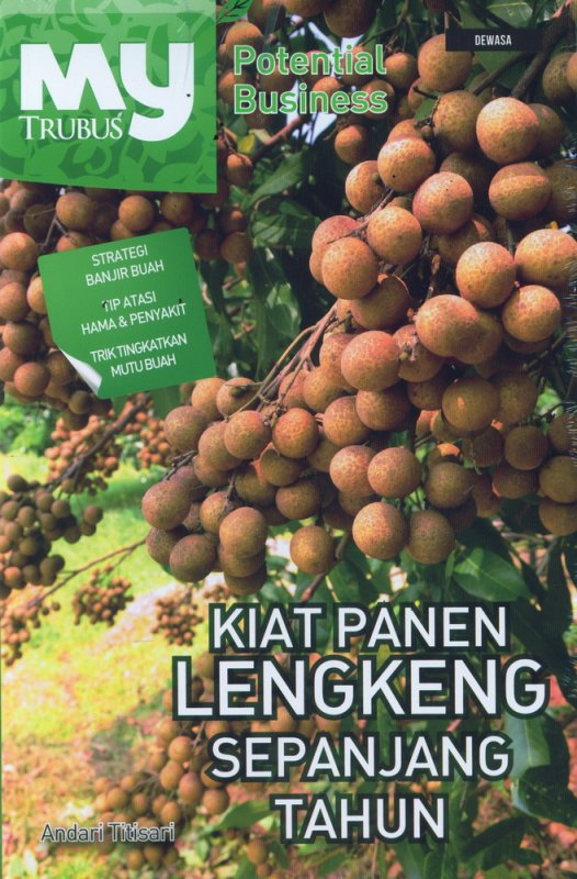 Cover Buku Kiat Panen Lengkeng Sepanjang Tahun