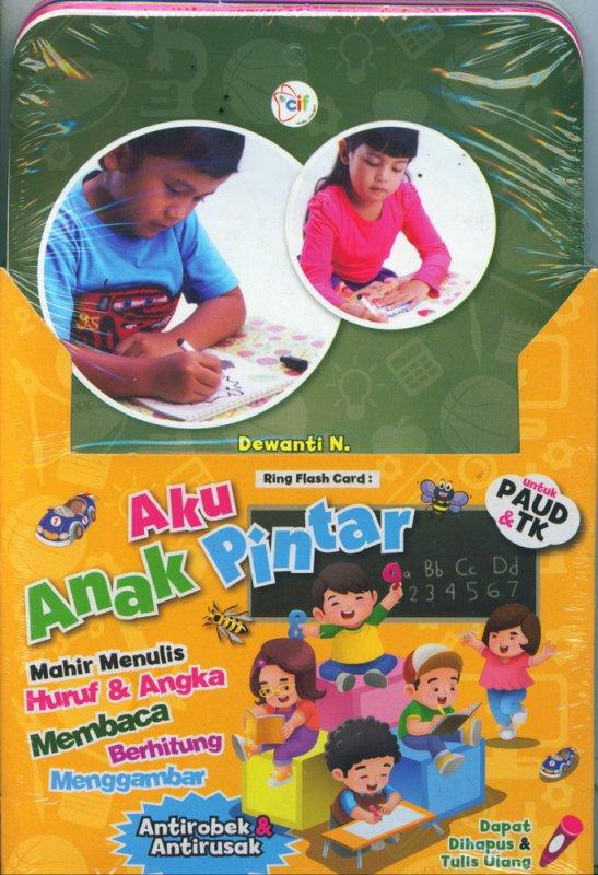 Cover Buku Aku Anak Pintar (Ring Flash Card) untuk PAUD & TK
