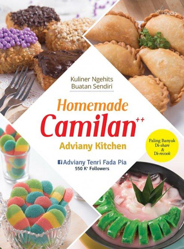 Cover Buku Homemade Camilan++ Adviany Kitchen (Promo Best Book)