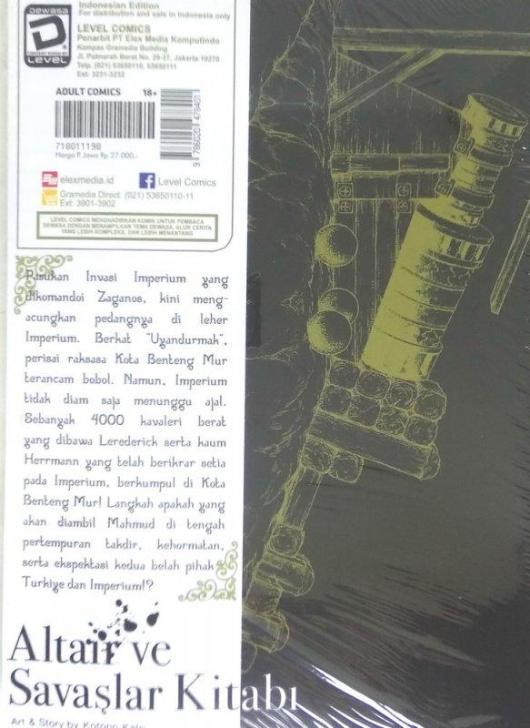 Cover Belakang Buku LC: Altair - Tale Of The Great War 18