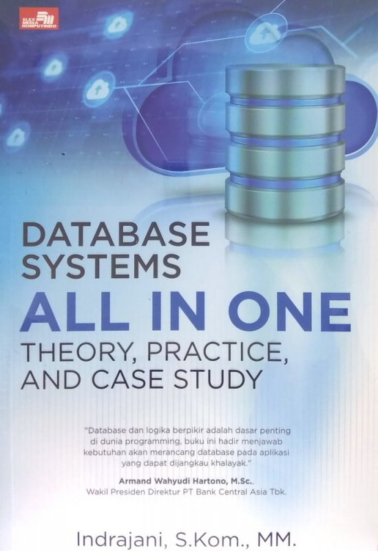 Cover Buku Database Systems All in One Theory, Practice, and Case Study