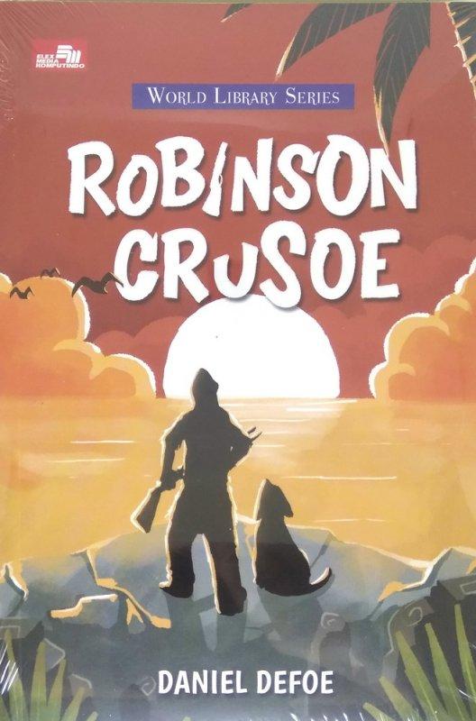 Cover Buku Robinson Crusoe (Cover Baru 2018)