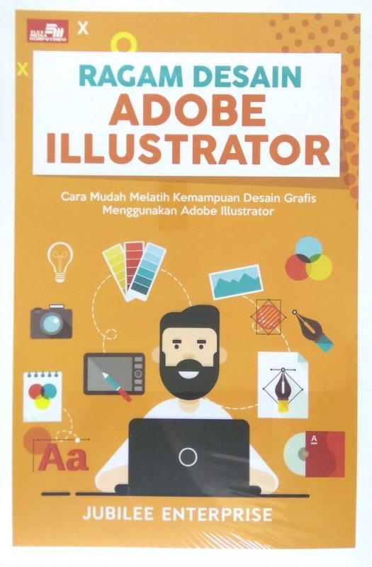 Cover Buku Ragam Desain Adobe Illustrator