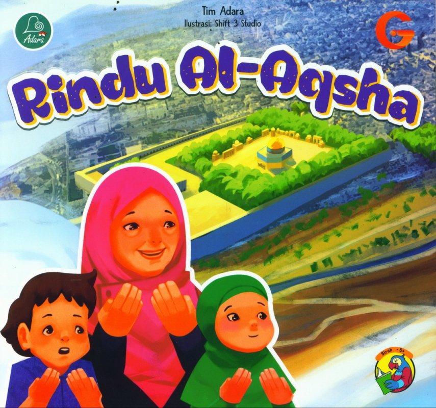 Cover Buku Rindu Al-Aqsha (full color)