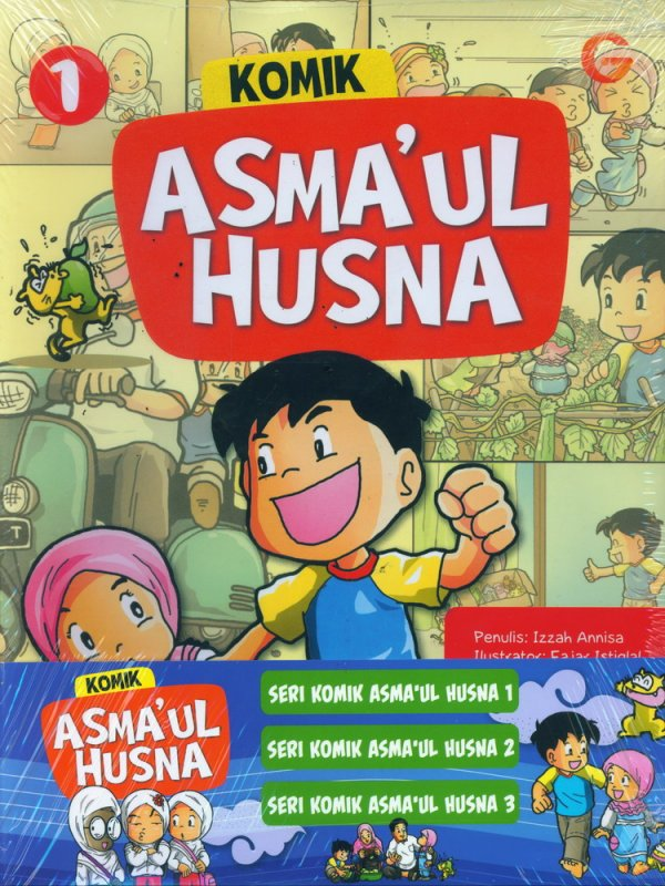 Cover Buku Komik Asmaul Husna #1