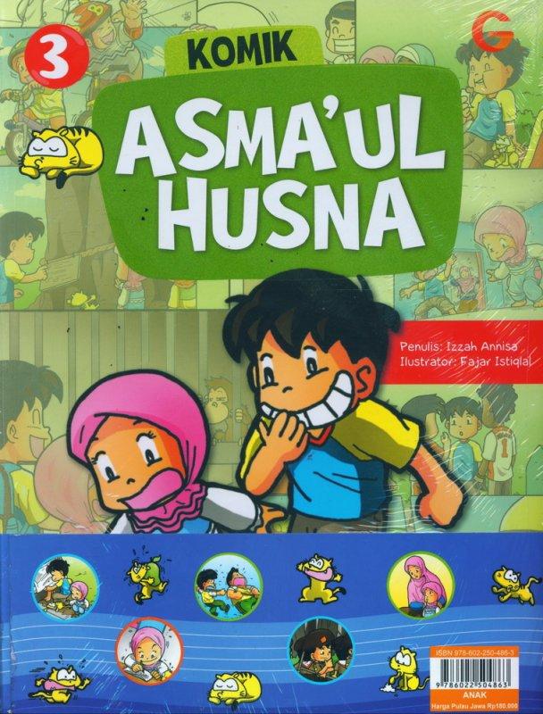 Cover Buku Komik Asmaul Husna #2