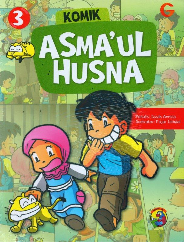 Cover Buku Komik Asmaul Husna #3