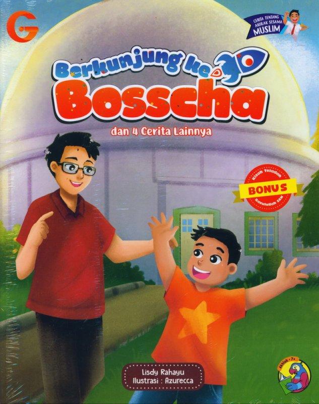 Cover Buku Berkunjung ke Bosscha dan 4 Cerita Lainnya