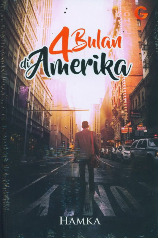 Cover Buku 4 Bulan di Amerika