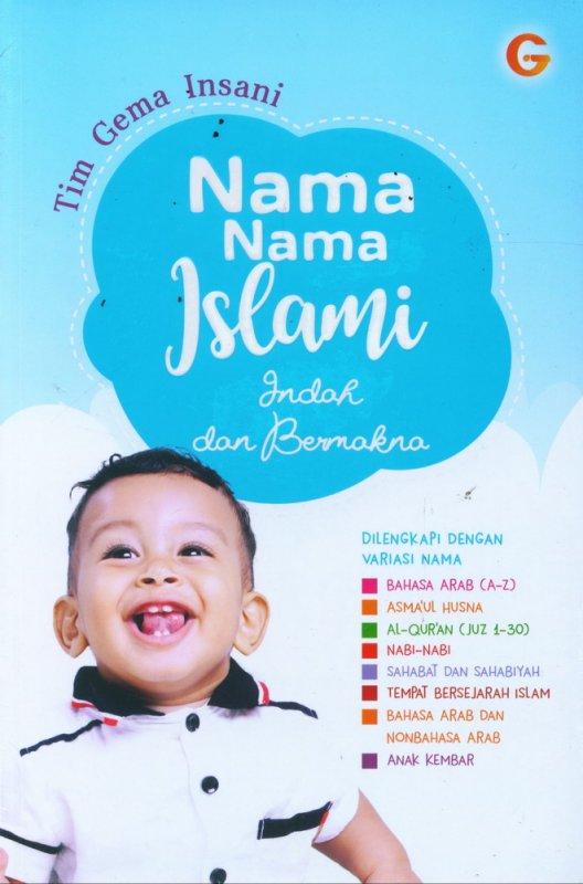 Cover Buku Nama-Nama Islami Indah dan Bermakna