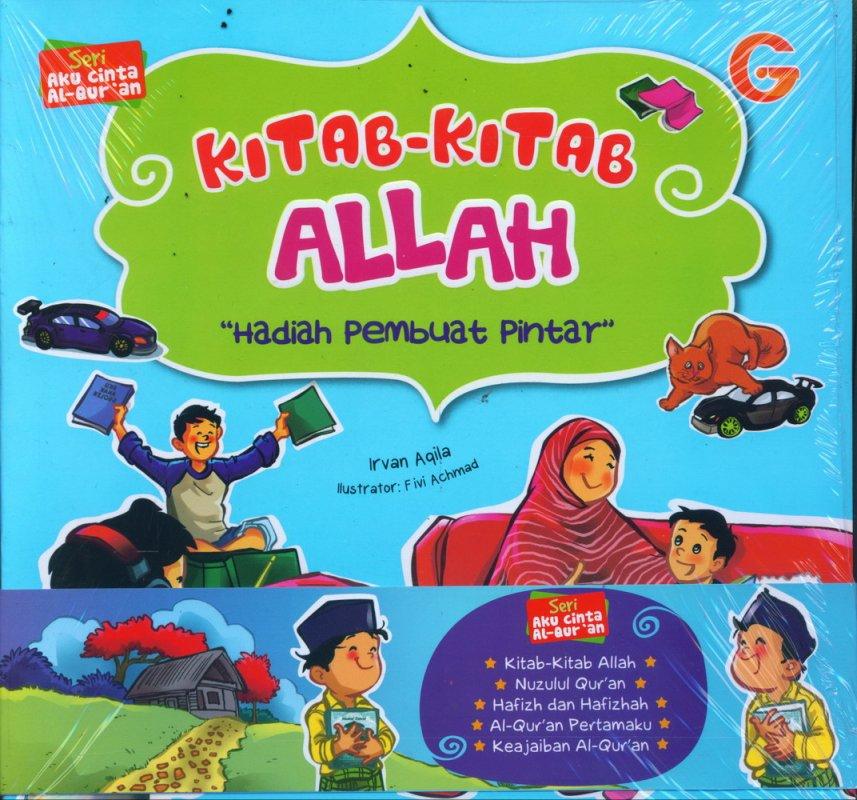 Cover Buku 1 Set Seri Aku Cinta Al-Quran