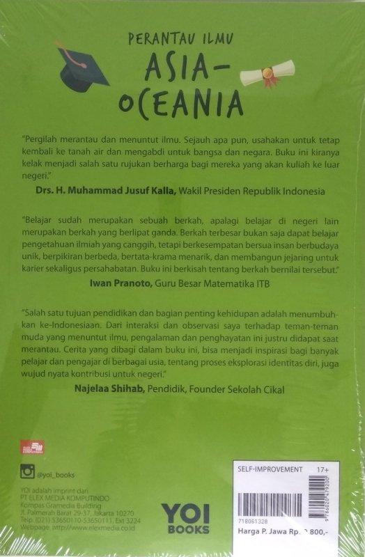 Cover Belakang Buku Perantau Ilmu Asia-Oceania
