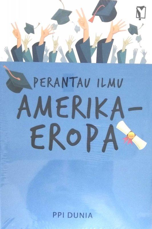 Cover Buku Perantau Ilmu Amerika-Eropa