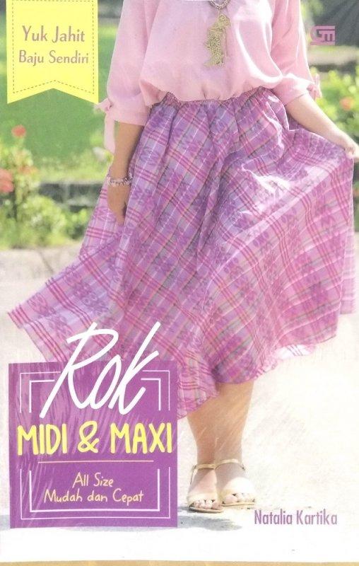 Cover Buku Yuk Jahit Baju Sendiri: Rok Midi & Maxi