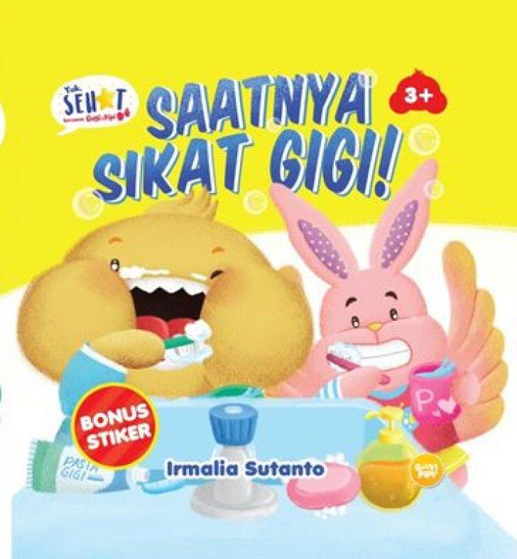 Cover Buku Saatnya Sikat Gigi!