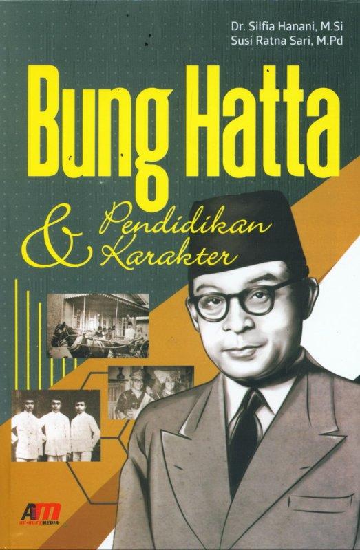 Cover Buku Bung Hatta & Pendidikan Karakter