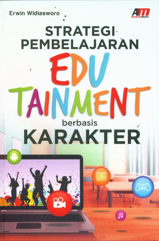 Cover Buku Strategi Pembelajaran EDUTAINMENT berbasis KARAKTER