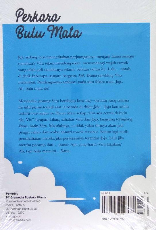 Cover Belakang Buku Perkara Bulu Mata