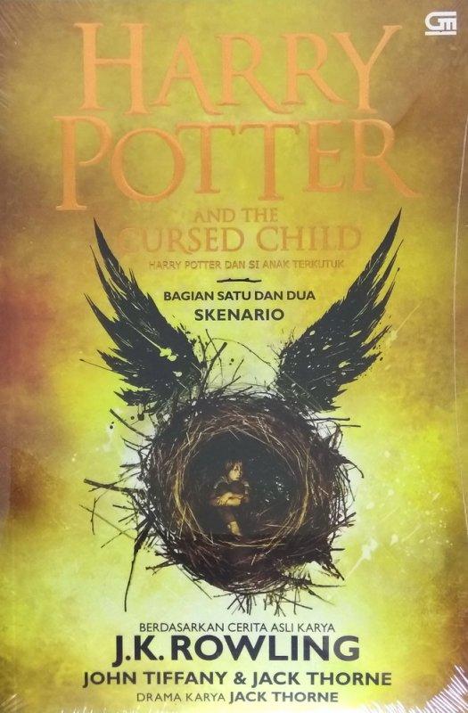 Cover Buku Harry Potter and The Cursed Child (Harry Potter dan Si Anak Terkutuk)