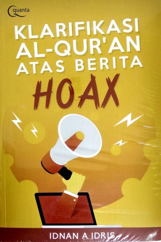Cover Buku Klarifikasi Al-Quran Atas Berita Hoaks