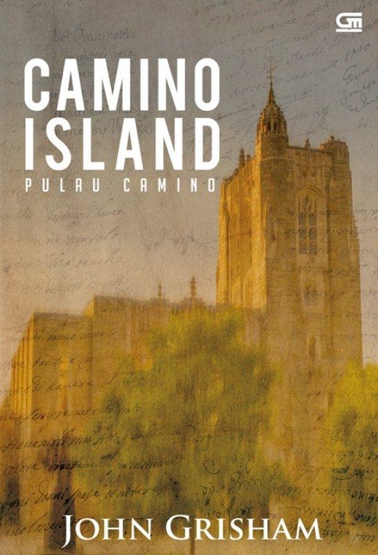 Cover Belakang Buku Camino Island - Pulau Camino