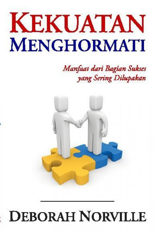 Cover Buku Kekuatan Menghormati (buku murah)