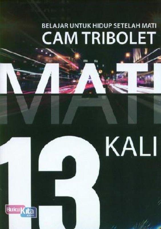 Cover Buku Mati 13 Kali (buku murah)