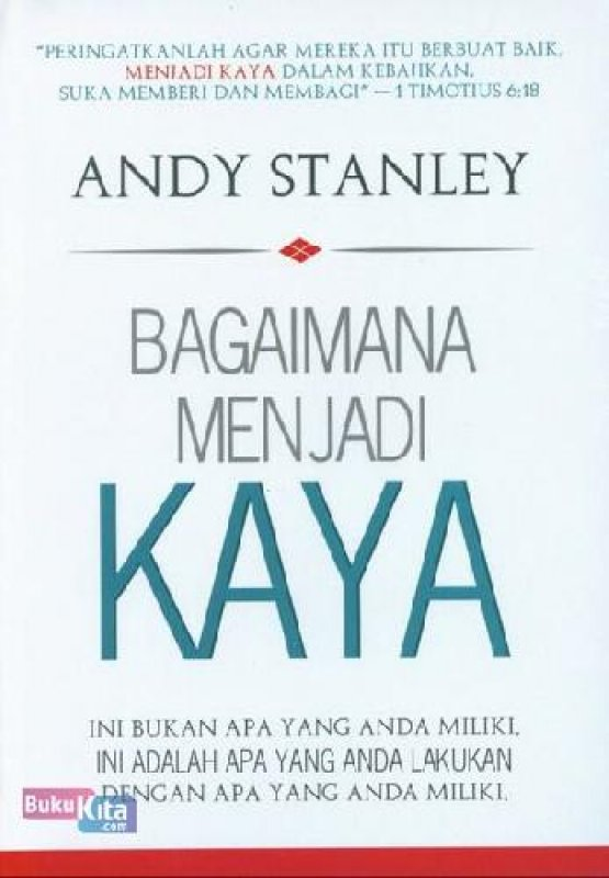 Cover Buku Bagaimana Menjadi Kaya (buku murah)