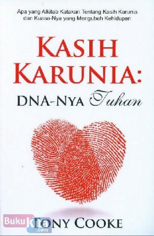 Cover Buku Kasih Karunia: DNA-Nya Tuhan (buku murah)