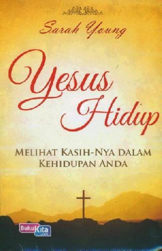 Cover Buku Yesus Hidup (buku murah)