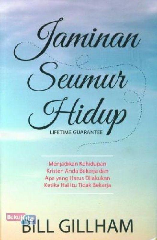 Cover Buku Jaminan Seumur Hidup (buku murah)