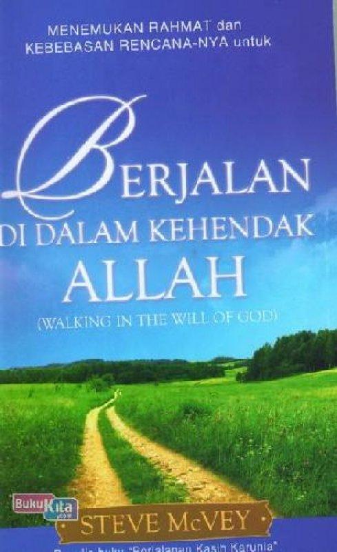 Cover Buku Berjalan dalam Kehendak Allah (buku murah)