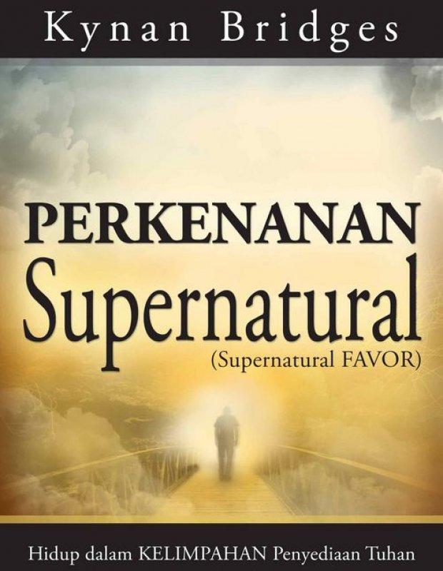 Cover Buku Perkenanan Supernatural (buku murah)