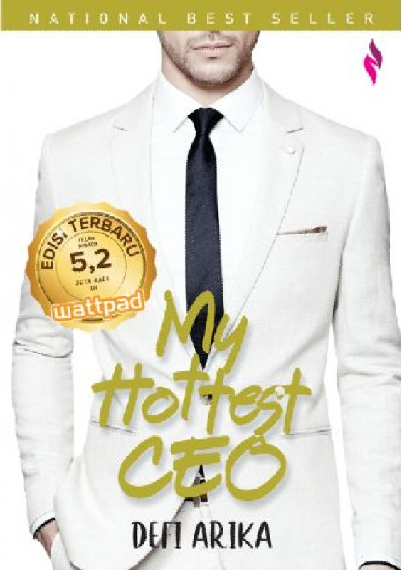 Cover Buku My Hottest CEO - Edisi Terbaru