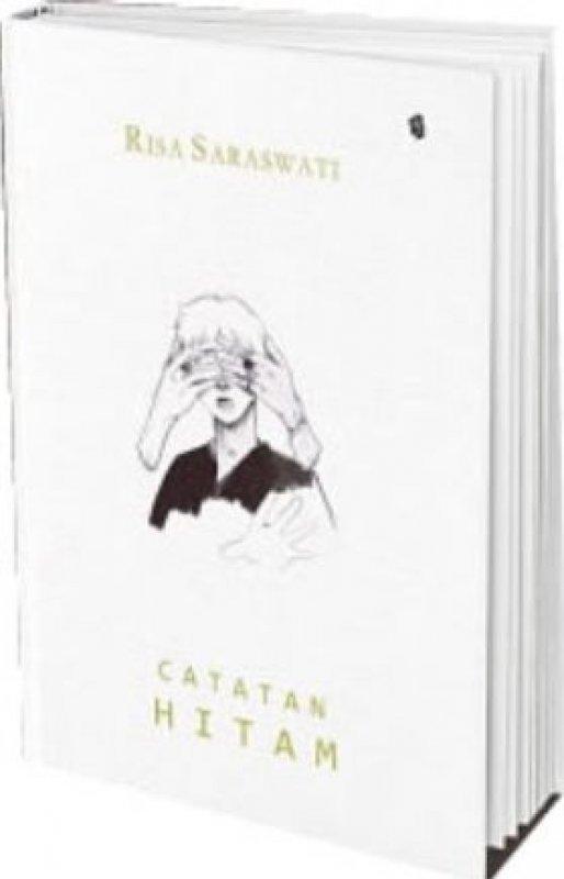 Cover Buku Catatan Hitam - Hard Cover [Bonus: stiker] (Promo Best Book)