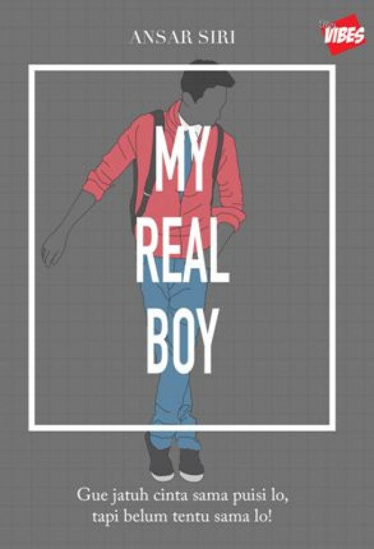 Cover Buku MY REAl BOY