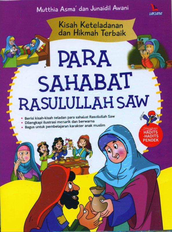 Cover Buku Kisah Keteladanan dan Hikmah Terbang Para Sahabat Rasulullah Saw
