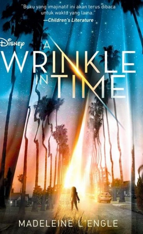 Cover Buku A Wrinkle In Time