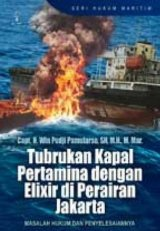 tubrukan kapal pertamina dengan elixir di perairan Jakarta