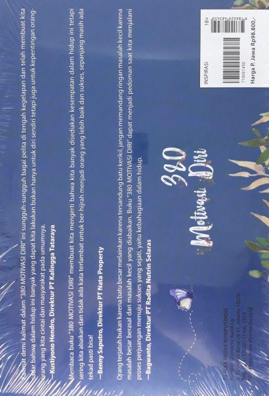 Cover Belakang Buku 380 Motivasi Diri