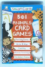 Smart Card 5 In 1 Animals CARD GAMES