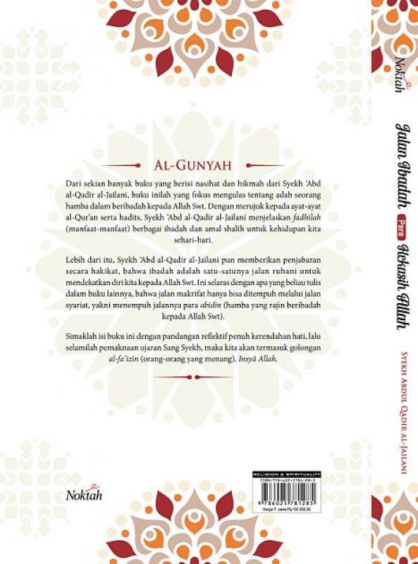 Cover Belakang Buku Jalan Ibadah Para Kekasih Allah (Hard Cover)