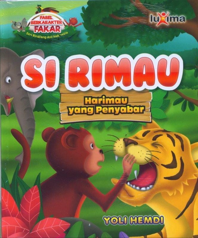 Cover Buku Si Rimau, Harimau yang Penyabar