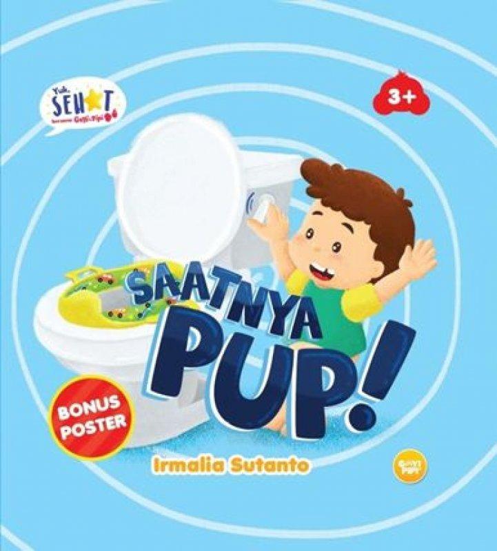 Cover Buku Saatnya Pup