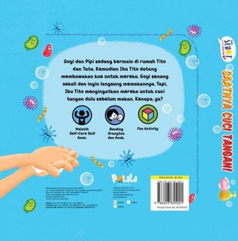 Cover Belakang Buku Saatnya Cuci Tangan
