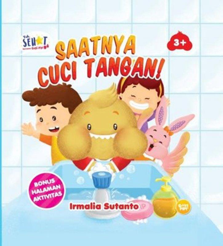 Cover Buku Saatnya Cuci Tangan