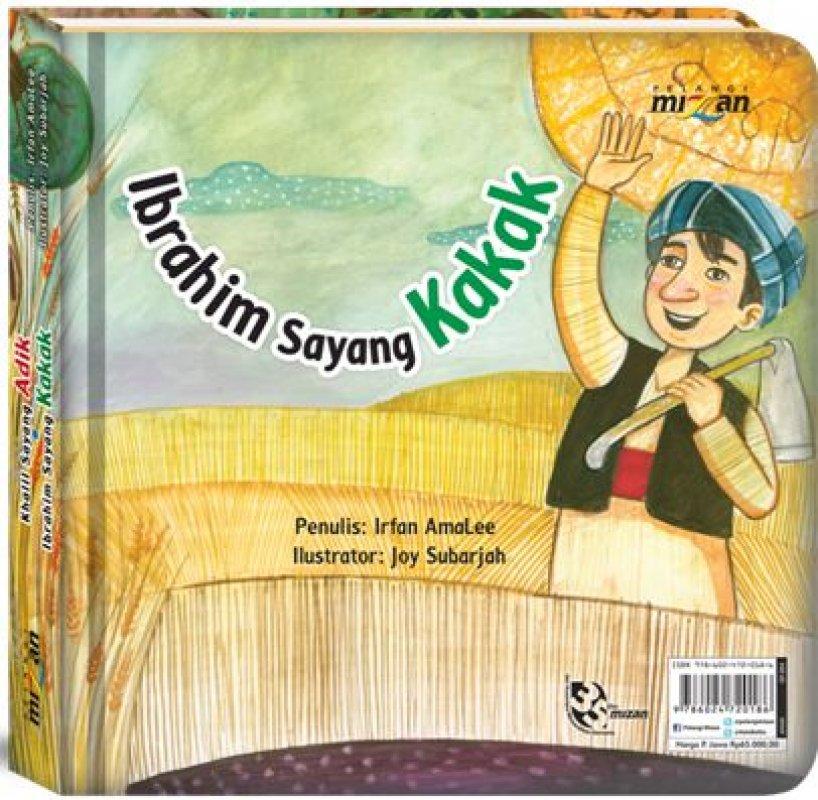 Cover Belakang Buku Seri 21 Century Skills - Critical Thinking  Khalil Sayang Adik ● Ibrahim Sayang Kakak (Hard Cover)