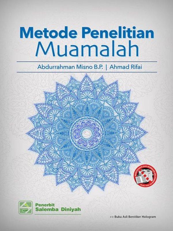 Cover Buku Metode Penelitian Muamalah