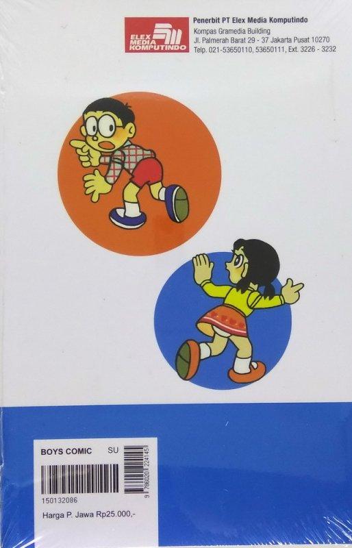 Cover Belakang Buku Doraemon 27 (Terbit Ulang)